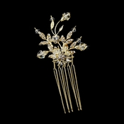 * Gold Crystal Vine Hair Pin 1613 **** Discontinued***