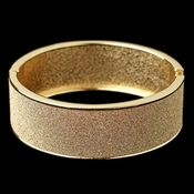 Gold Glitter Sparkle Bangle Bracelet 82000