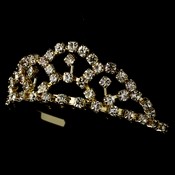 * Gold with Clear Stones Childs Tiara HPC-687 ** Discontinued***