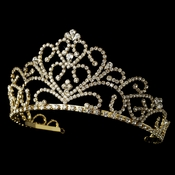 Golden Bridal Tiara HP 1620