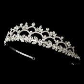 * Headpiece 1022 Silver Tiara