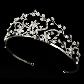 Headpiece 6015 Silver Clear * Discontinued*