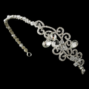 Headpiece 8101 Silver Clear