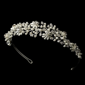 Headpiece 9943 Silver Bridal Tiara ***Only 1 left****