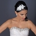 HP 3723 Diamond white lace flower with pearl & rhinestone accent