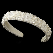 Ivory Bridal Headband HP 8268