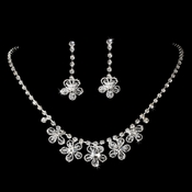 NE 1291 Swarovski Necklace Earring Set