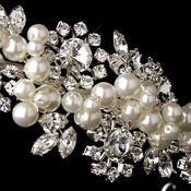 Pearl Accented Side Bridal Headbands