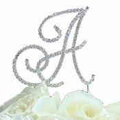 Renaissance ~ Large Initial Cake Top Jewelry