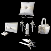 Ribbon & Brooch Reception Set 848