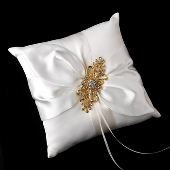 Ring Pillow 17 with Ribbon Brooch 3268
