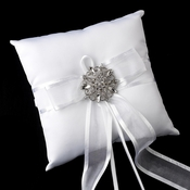Ring Pillow 90 with Antique Clear Brooch 48