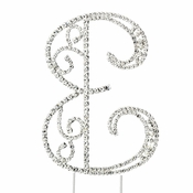 Romanesque ~ Swarovski Crystal Wedding Cake Topper ~ Ampersand &