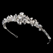 * Silver AB Plated Bridal Headband HP 8313