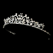 * Silver and AB BridalTiara HP 6101