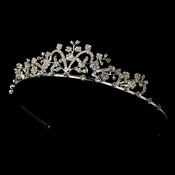 * Silver and Clear Bridal Tiara HP 6101 * Discontinued*