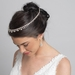 Silver Clear Crystal Bridal Wedding Hair Headband Jewelry Necklace 10010
