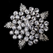 Silver Flower Brooch 149