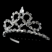Silver Heart Child's Tiara HPC 683***Discontinued***