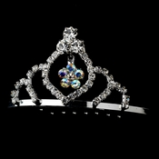 * Silver with AB Crystals Child's Tiara HPC 241 * 1 Left *