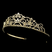 Small Pageant Rhinestone Bridal Tiara HP 1774