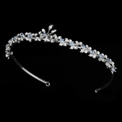 "* ""Something Blue"" Bridal Tiara HP 6269 ***3 Left***"