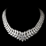 Stunning Cubic Zirconium Necklace N 2695 ***Discontinued***