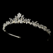 * Swarovski Crystal and Freshwater Pearl Tiara HP 7051