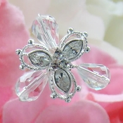 Swarovski Crystal Bouquet Jewelry