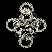 Swarovski Crystal Bridal Brooch 4