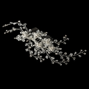 * Swarovski Crystal Bridal Comb 6486 Silver Clear***Discontinued***