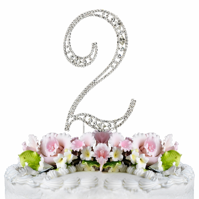 2nd Anniversary Or 2nd Birthday Swarovski