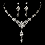 Vintage Drop Swarovski Crystal Jewelry Set NE 902 **Discontinued**