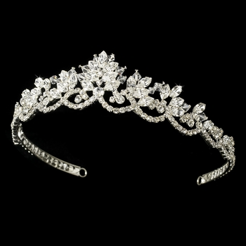 Vintage Inspired Bridal Tiara HP 7009