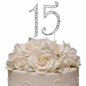 Vintage ~ Sweet 15, 15th Anniversary, or Quincea�era Cake Topper