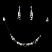 * White Illusion Jewlery Set NE 230