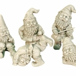 Gnome Figurine Set [6 pieces]