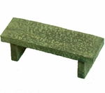 Stone Bench<BR>FAIRY GARDEN<BR>^^^ OVERSTOCKED! ^^^