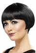 1920's Black Bob Wig