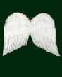 "20"" White Feather Angel Wings"
