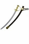 26-Inch Plastic Cavalry Sword With Sheath