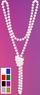 "48"" Flapper Bead Necklace - More Colors"