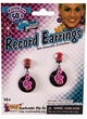 50s Music Note & Record Earrings