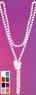 "60"" Flapper Bead Necklace - More Colors"