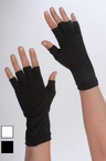 7-Inch Stretch Fingerless Gloves - More Colors