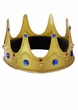Gold Jeweled King Crown