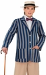 Adult 1920's Men's Boater Jacket Costume, Size M/L