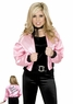 Adult 50's Pink Satin Jacket
