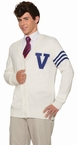 Adult 50's Varsity Letterman Sweater-Standard and Plus
