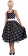 Adult 50s Cutie Polka Dot Dress Costume